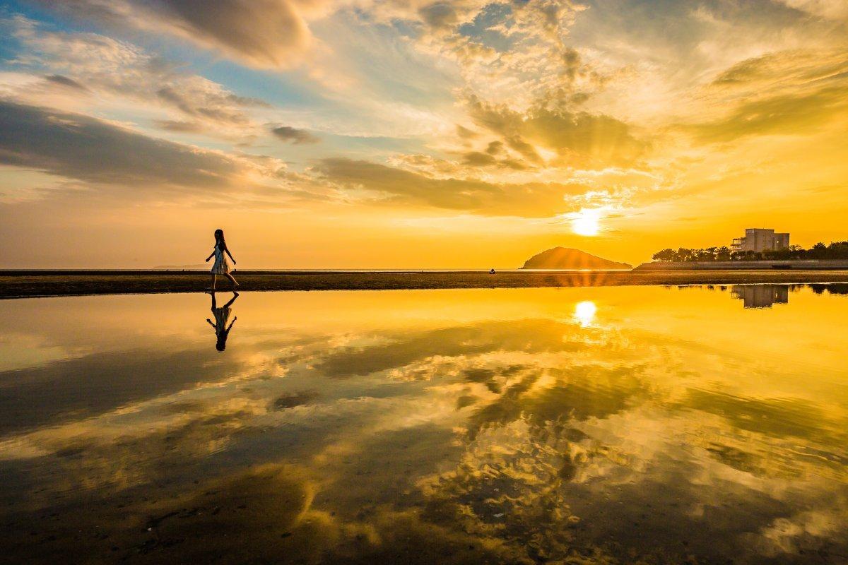 目次 絶景 三豊市父母ヶ浜 ちちぶがはま へ 特集 香川県観光協会